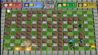 Bomberman Land (WII) gameplay - GogetaSuperx