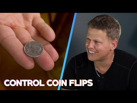 How to cheat a coin flip