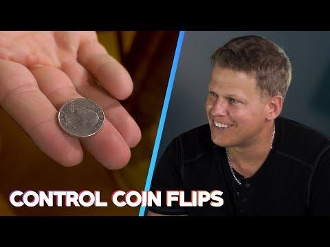 El truco para lanzar una moneda al aire y que siempre salga el lado que tú elijas