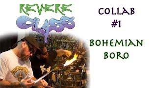 Collab with Bohemian Boro || REVERE GLASS ||