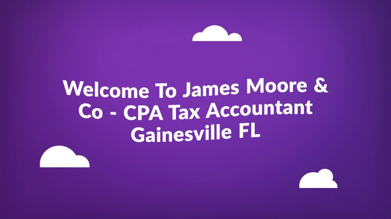 James Moore : CPA Tax Accountant in Gainesville FL
