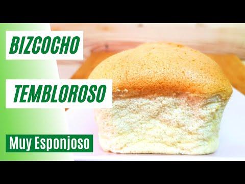 BIZCOCHO MUY ESPONJOSO - Similar al Bizcocho TEMBLOROSO JAPONÉS