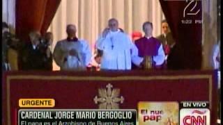 Presentación del Papa Francisco