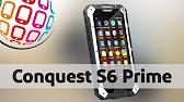 Защищенный смартфон Conquest S6 в нашем видеообзоре - YouTube