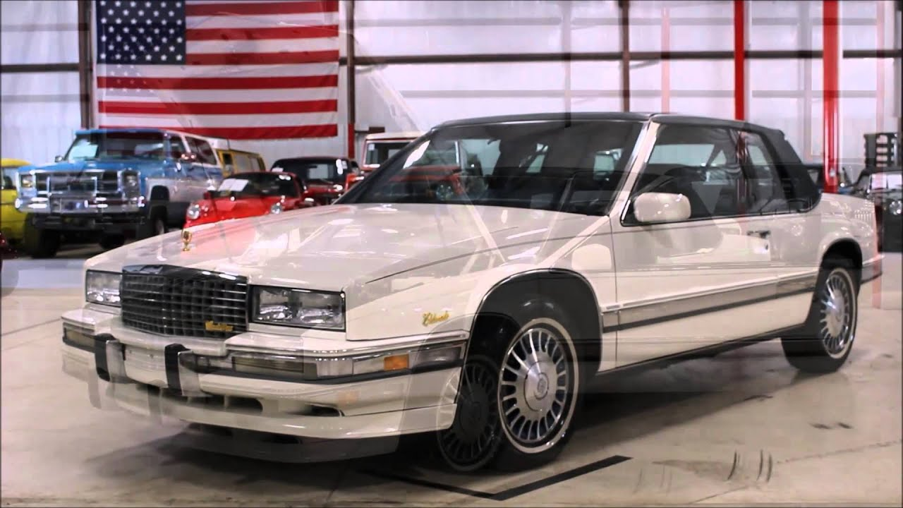 1991 cadillac eldorado youtube. Black Bedroom Furniture Sets. Home Design Ideas