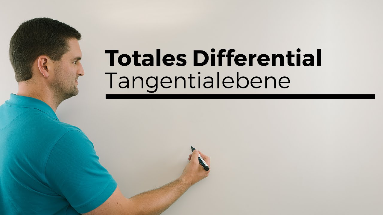 Download Totales Differential, Tangentialebene, mehrdimensionale Analysis | Mathe by Daniel Jung