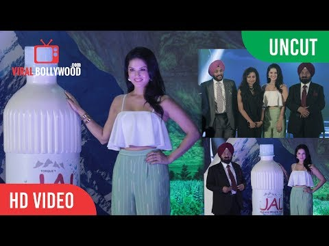 UNCUT - JAL Mineral Water LAUNCH | Sunny Leone, Mr. PS Chhatwal | Torque Pharma's new Product