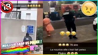 ZAP TV LES MEILLEUR SNAP POLICE & JEUNES DES QUARTIERS ,COURSE POURSUITE....+18)#1