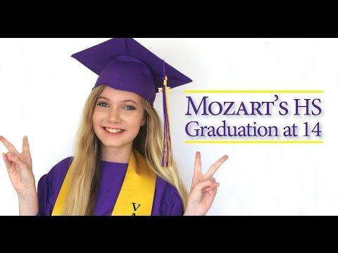 Mozart Graduates High School at 14 & Starts College, Music, Acting in LA!
