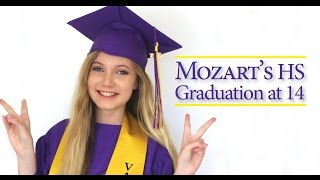 Mozart Graduates High School at 14 & Starts College, Music, Acting in LA!