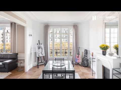 Rénovation d'un appartement de caractère à Paris (75) par Camif Habitat