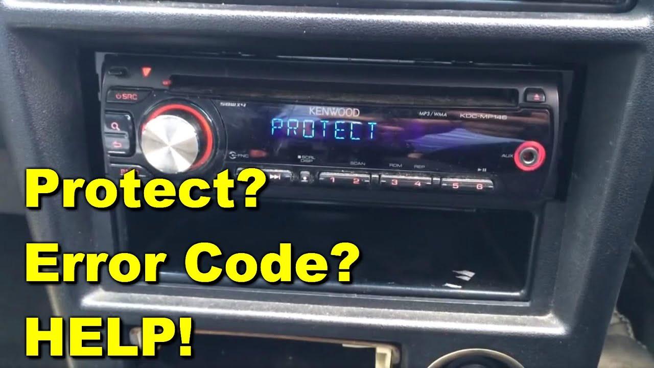 Kenwood Kdc Mp146 Error Code