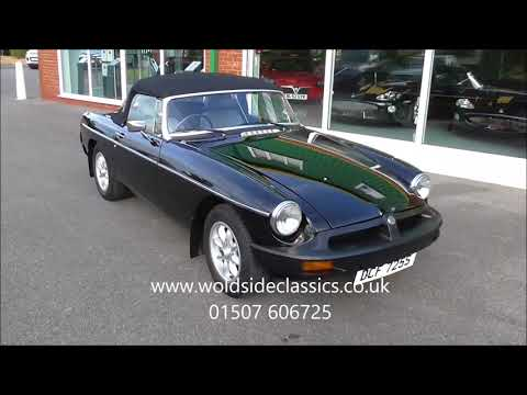 SOLD 1978 MG MGB Roadster For Sale in Louth Lincolnshire