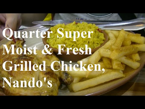 Quarter Super Moist & Fresh Grilled Chicken, Nando's