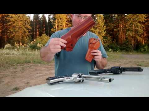 Big Bore Pistols - Hot 45 Colt + Hot 480 Ruger