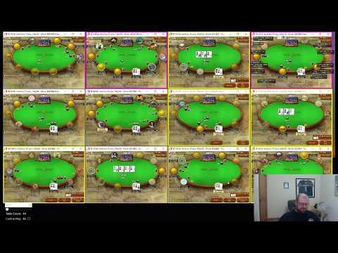 Thrash370 playing 50 poker tables?!