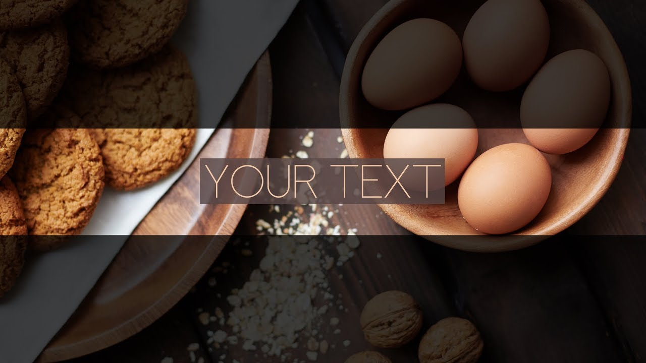 Free Food Banner Template For Youtube Channel 25 Photoshop I Download 2020 Youtube