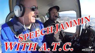 Speech Jammer Flying