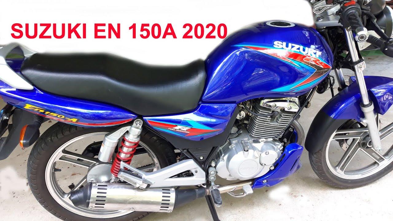 Đánh giá Suzuki EN 150A 2020 - Xe chất dành cho người thích đi phượt