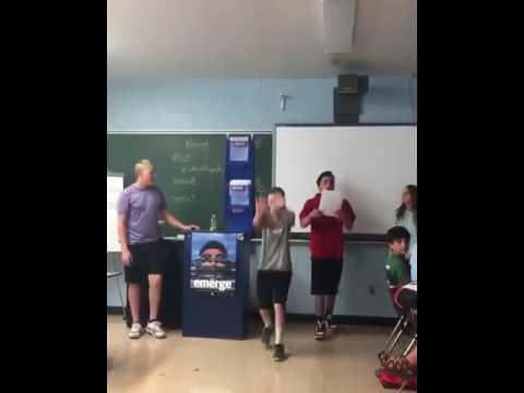 Humorous Class Presentation Bottle Fip Fail Rap music!!!