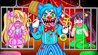 We Got Captured By A CRAZY CLOWN! (Roblox Story)