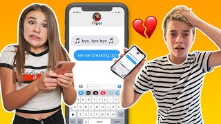 SONG LYRIC PRANK ON BOYFRIEND Turns Into REAL BREAK UP **emotional**| Piper Rockelle