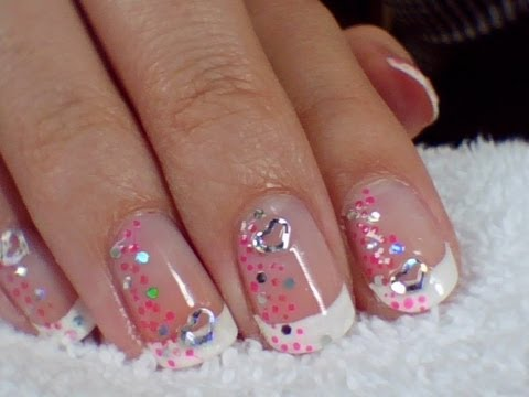 nail art mariage pour debutante youtube. Black Bedroom Furniture Sets. Home Design Ideas