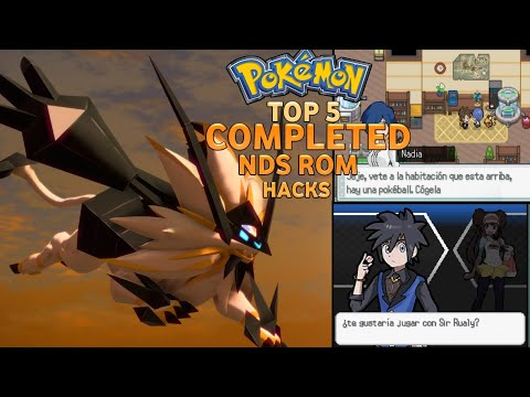 Top 5 Completed Pokemon NDS Rom Hacks 2020!