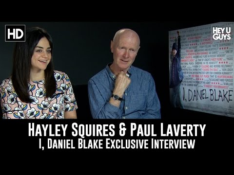 Hayley Squires & Paul Laverty - I, Daniel Blake Exclusive Interview