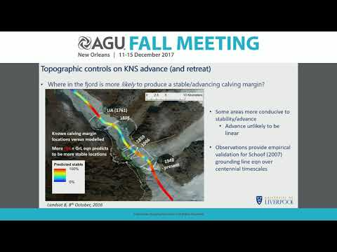 2017 Fall Meeting - C23D: Ice Sheet and Glacier Change