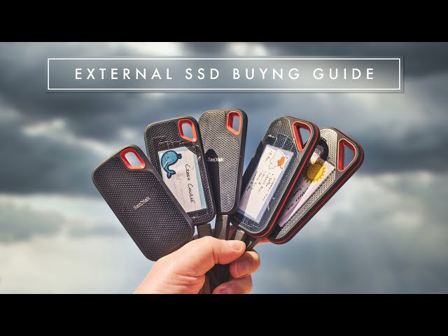 Buying An External SSD For Video Editing In 2021? Watch This First And SAVE MONEY!