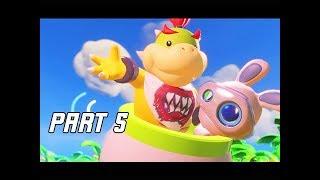 Mario + Rabbids Kingdom Battle Walkthrough Part 5 - WORLD 2 SHERBET DESSERT (Switch Let's Play)