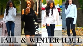 FALL & WINTER FASHION CLOTHING HAUL & TRY ON! - Feat. Zara, LuluLemon, Nordstrom & MORE!