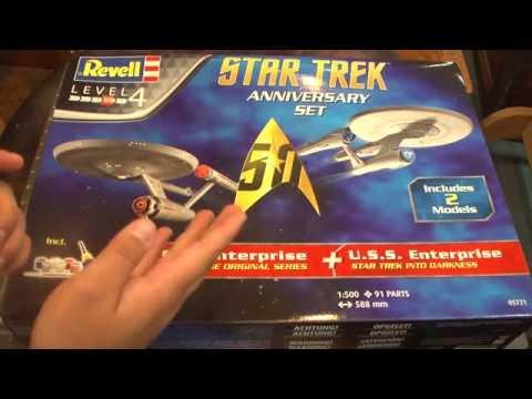 Revell Star Trek 50th Anniversary USS Enterprise Gift Set - Things and Stuff Review