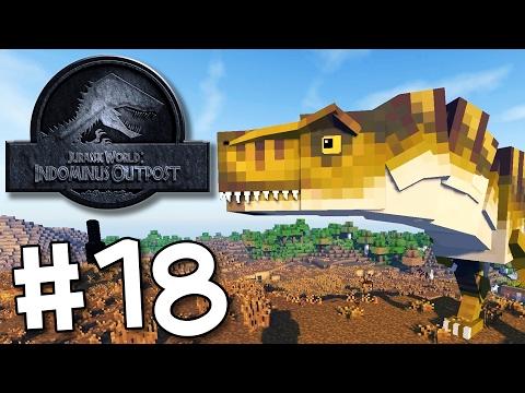 Minecraft Jurassic World: Indominus Outpost - Tyrannosaurus Rex Naming Ceremony! #18