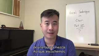 Técnica Vocal para Directores con Todd JereHarper | Sistema Tips | Parte 3/3