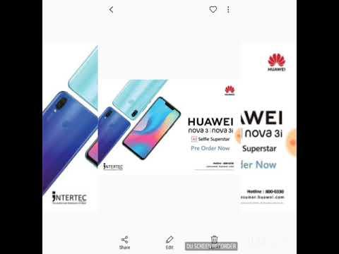 huawei nova 3 dubai price  now available nova 3 UAE