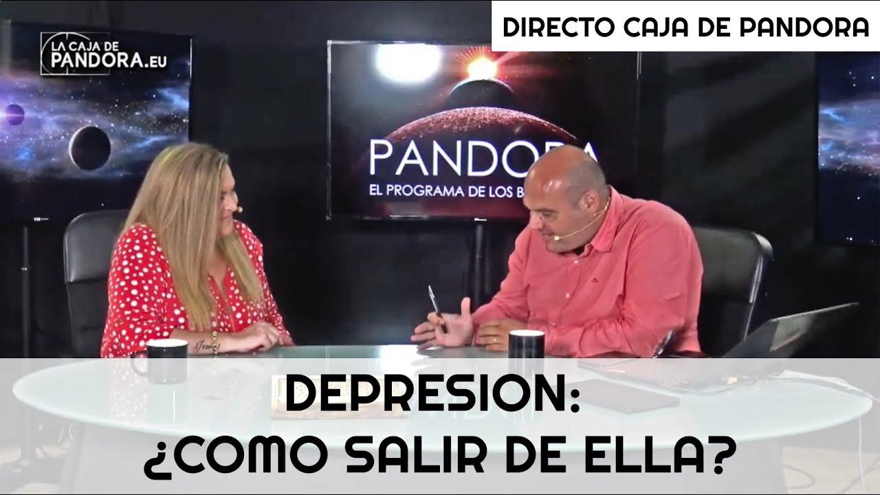 DEPRESION: ¿COMO SALIR DE ELLA? - DIRECTO CAJA DE PANDORA // LUZ ARNAU