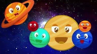 planètes chanson pour les enfants | Rimes pour les enfants | Planets Song | Educational Kids Songs