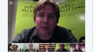 """NYPL's """"The Perks Of Being A Wallflower"""" Hangout With Author Stephen Chbosky"""