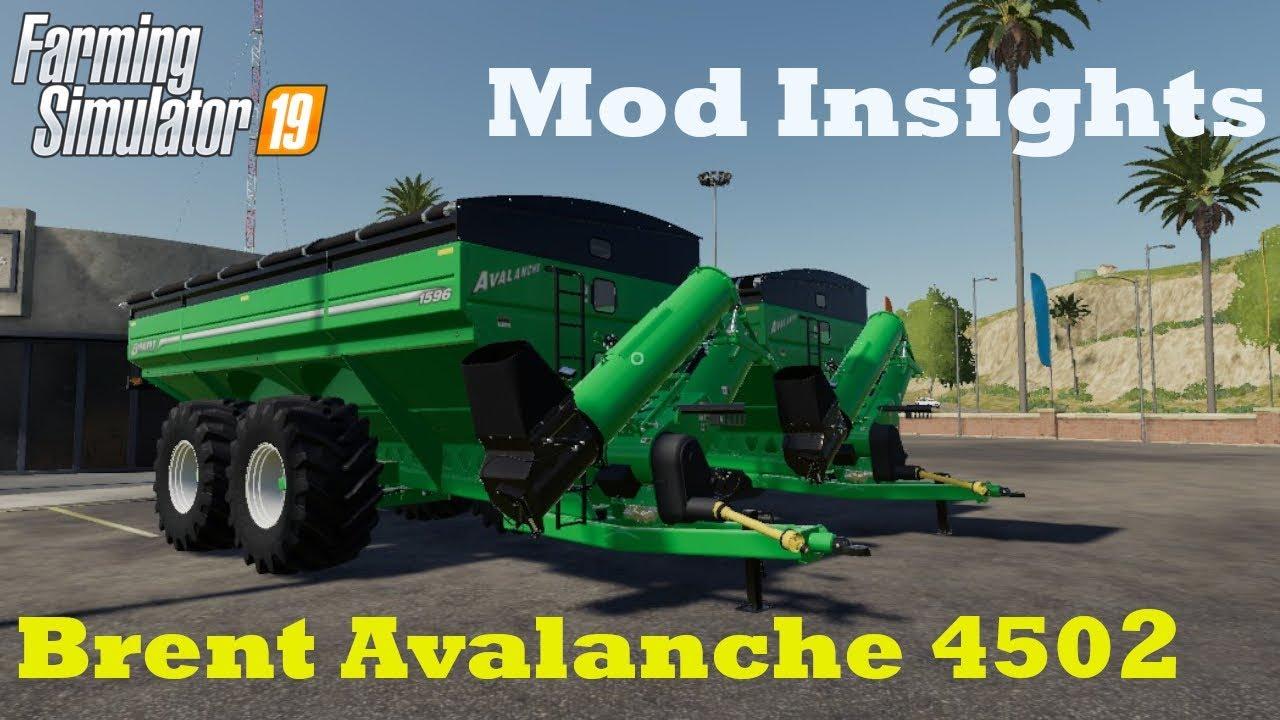 FS19 | Brent Avalanche 1596 | Mod Insights