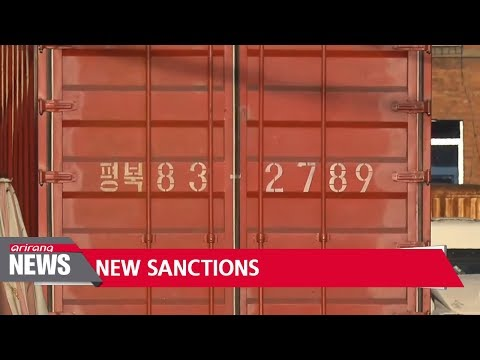 U.S. announces new sanctions on N. Korea and Chinese entities