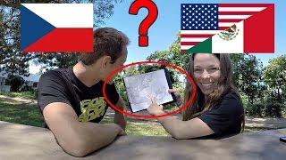 Co Ví MEXIČANKA o ČESKÉ Republice? + Zkouška Piva a Sladkosti!