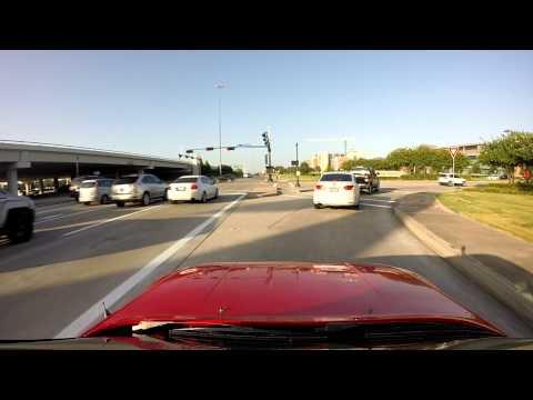 Driving around in Sugar Land, TX - Porsche 944 GoPro footage