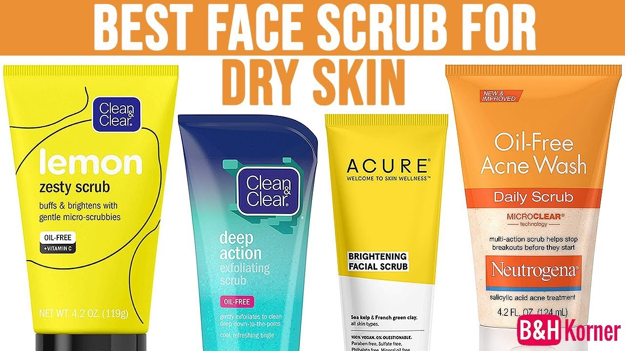 best scrub for combination skin
