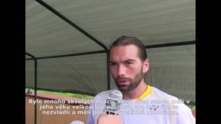 Peter Torebko po prohře ve finále Rieter Open Pardubice 2016