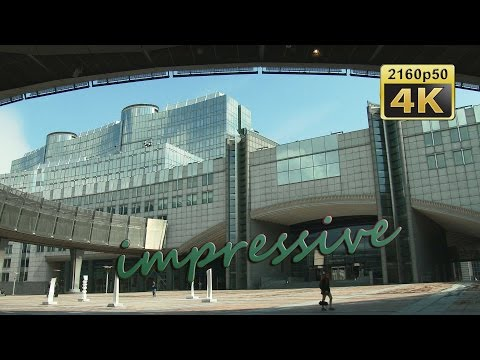 Brussels, European Quarter - Belgium 4K Travel Channel