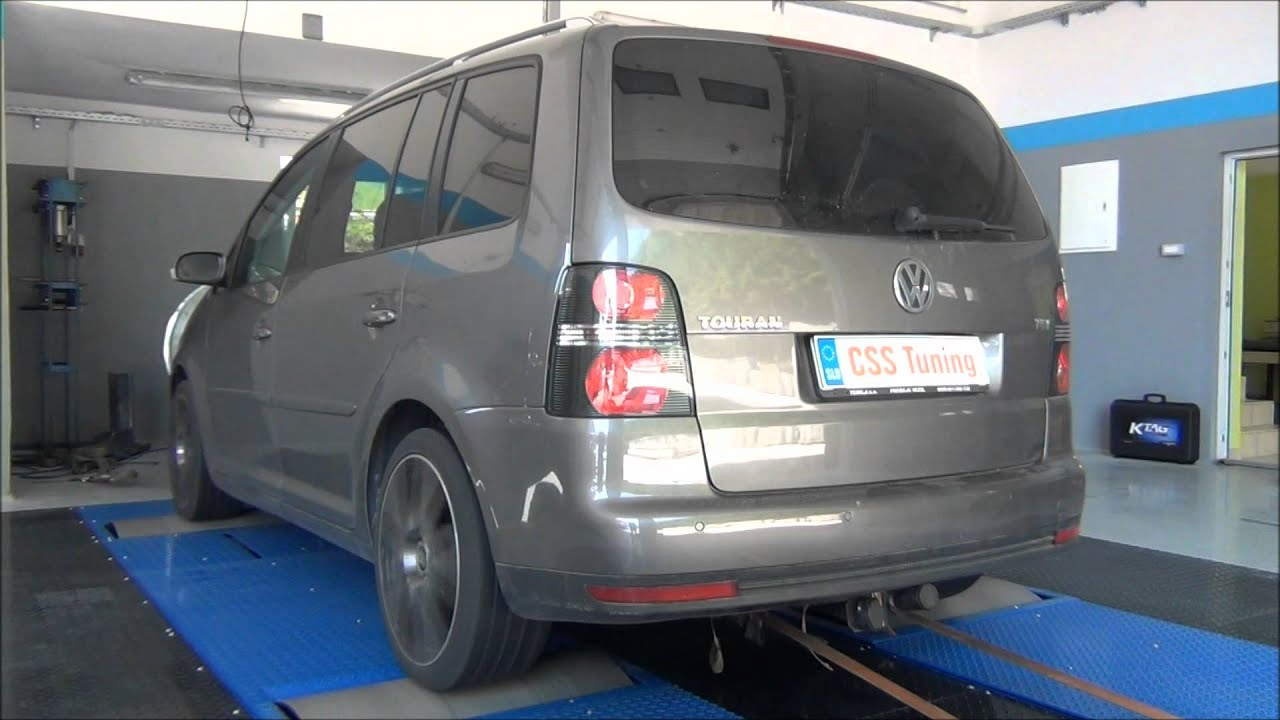 css performance vw touran 1 9 tdi 105 hp youtube. Black Bedroom Furniture Sets. Home Design Ideas