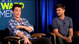 Zac Efron That Awkward Moment Q And A Part 1