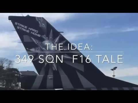 Project 75 years 349 SQN F16
